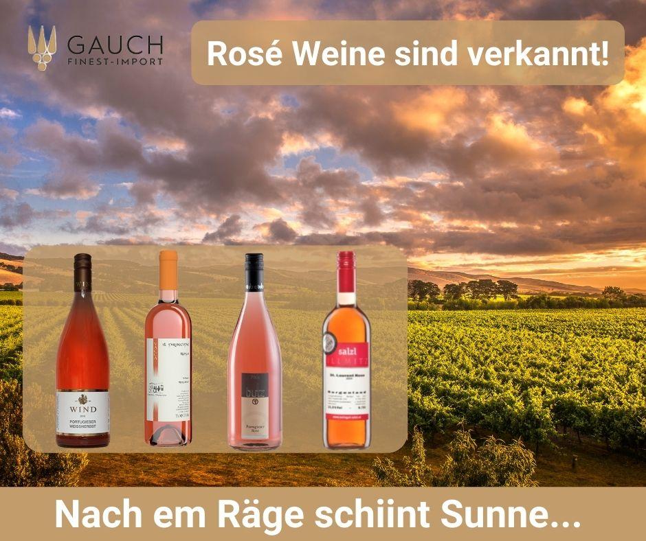 Roséwein aus der Pfalz